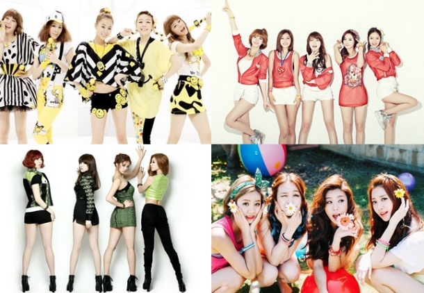 Top Ten Best Singles by Girl's Day