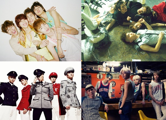Top Ten Best Singles by Shinee