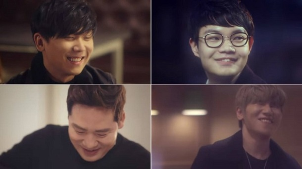 K.Will, Junggigo, Jooyoung & Brother Su - Cook For Love