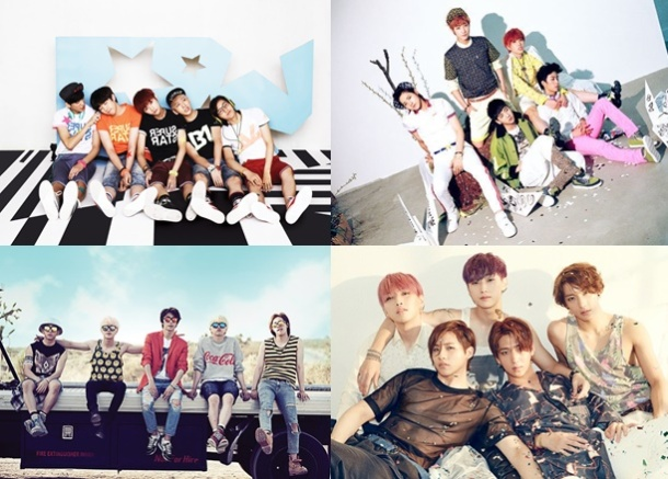 Top Ten Best Singles by B1A4