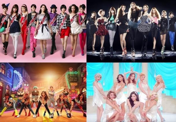 Top Ten Best Songs by Girls Generation