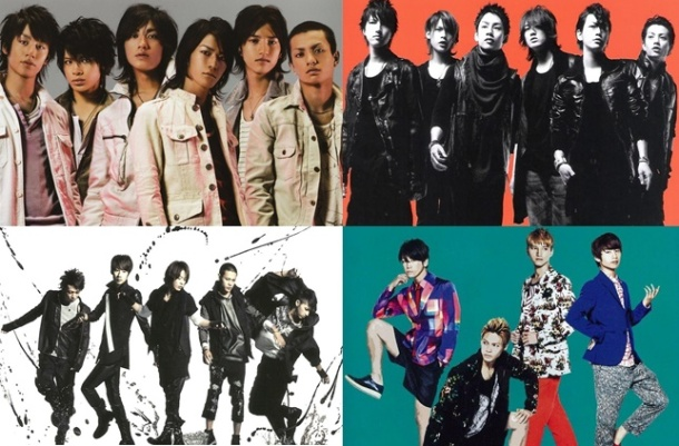 Top Ten Best Singles by KATTUN