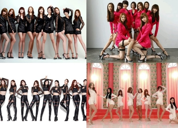 Top Ten Best Singles by Nine Muses