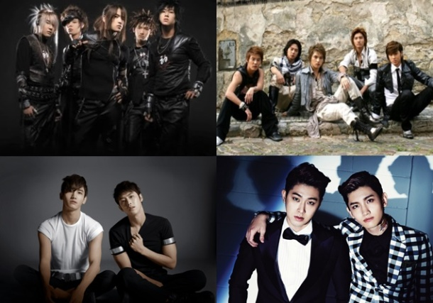 Top Ten Best Songs By TVXQ DBSK TOHOSHINKI
