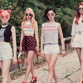 Song Review: 9MUSES A – Lip 2Lip