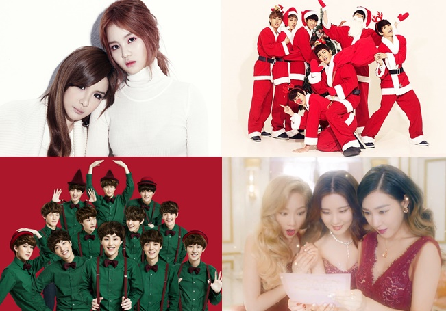 The Top Ten Best K-POP CHRISTMAS Songs | The Bias List // K-Pop ...