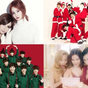 The Top Ten Best K-POP CHRISTMAS Songs