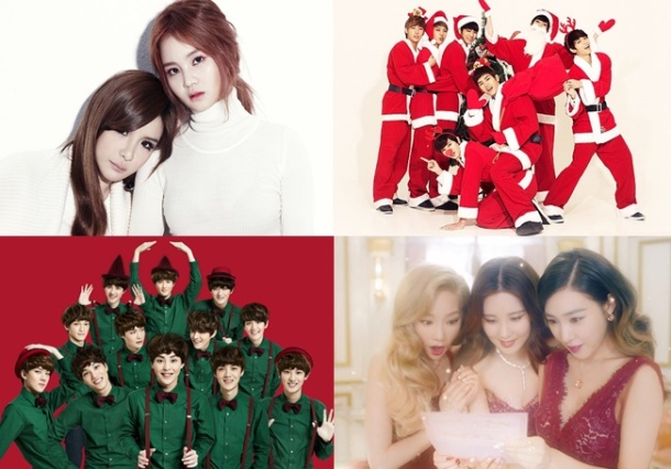top ten best k pop christmas songs