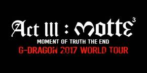 G-Dragon Act III MOTTE World Tour in Seattle – Review & Recap