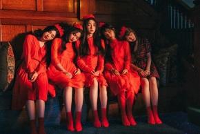 Buried Treasure: Red Velvet –Look