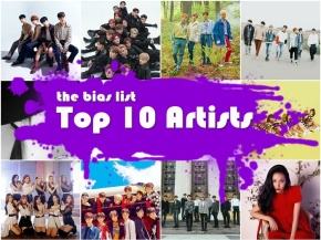 The Top 10 K-Pop Artists of 2018