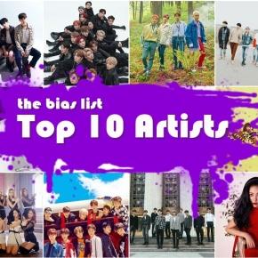 The Top 10 K-Pop Artists of2018