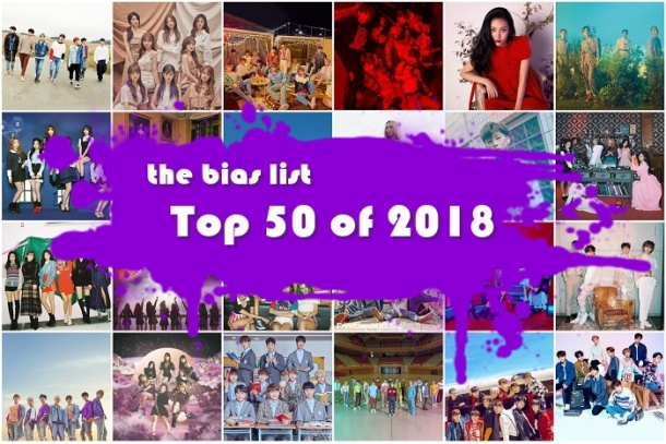 The Top 50 K-Pop Songs of 2018 (Day One: 50-41) | The Bias