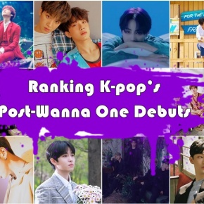 Ranking K-pop's Post-Wanna One Debuts